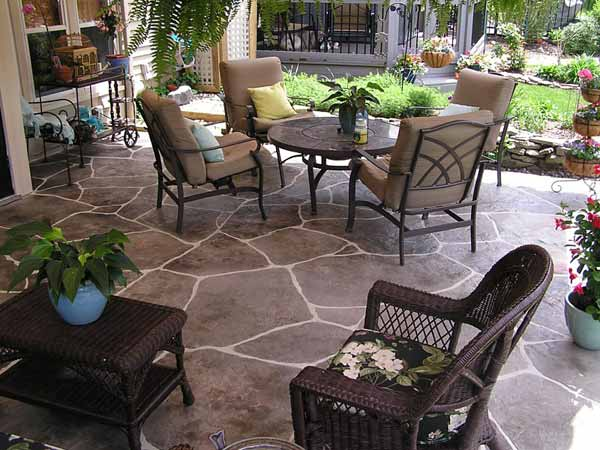 Stamped Concrete Flooring